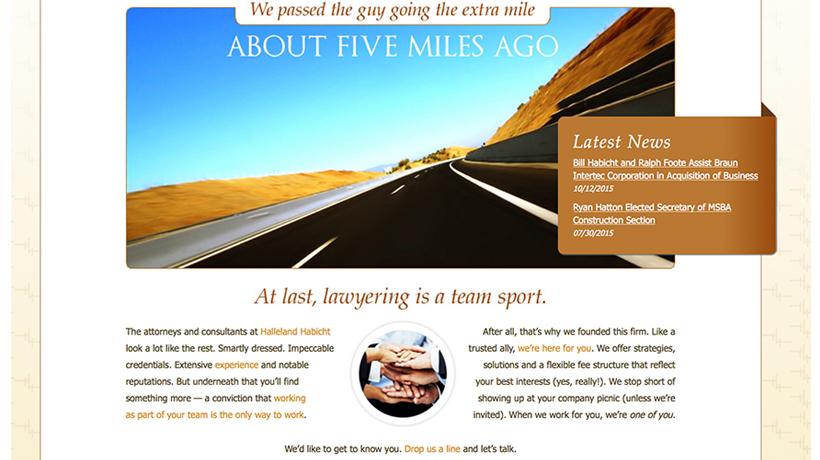 Halleland Habicht PA website
